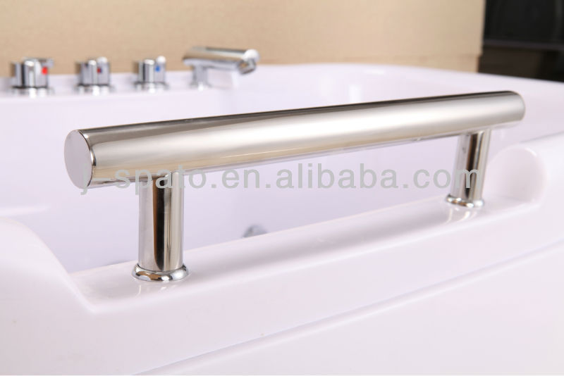 Hot Sale Indoor Acrylic Massage Bathtub For Two People