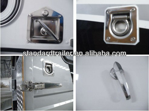 3 horse float angle load deluxe shandong manufacturer