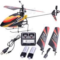 2.4g 4ch одним лезвием гироскопа rc мини-вертолет с lcd 2 батареи открытый v911 mode2