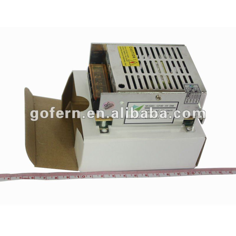 CE RoHS quality for ac dc power supply 40W 12V 3.3A