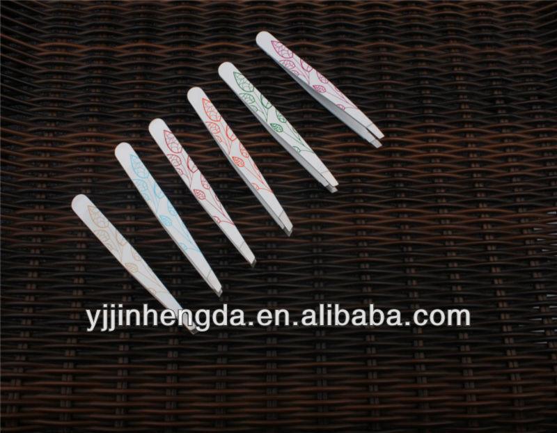 stainless steel tweezer with silk-screen