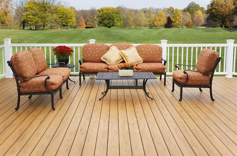 Wpc decking / exterior / jardín pisos