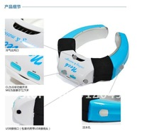 2012 hot sale New USB battery two-purpose Neck air conditioning massager,free shipping