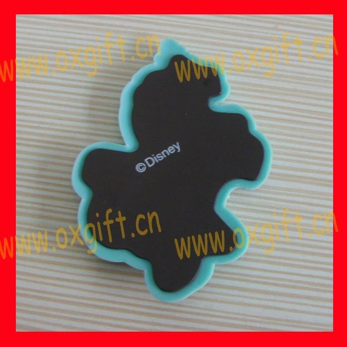 OXGIFT 3D Cartoon Soft Pvc Fridge Magnet