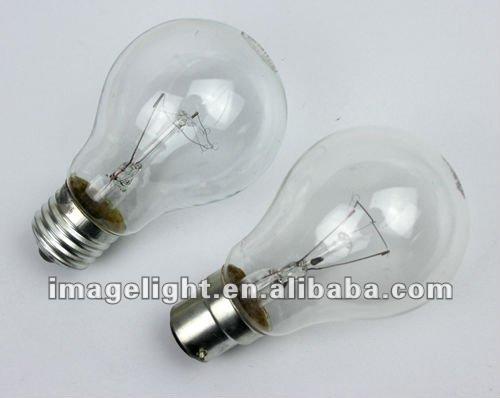 40W Standard A60 GLS Incandescent Bulb Clear E27