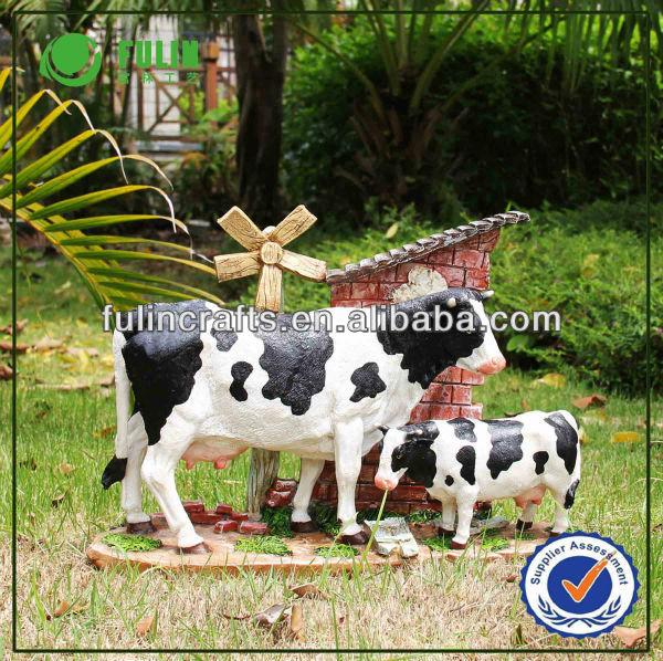 R sine jardin d coration de jardin animaux vache laiti re vendre d 39 autres accessoires de - Animaux decoration jardin resine ...