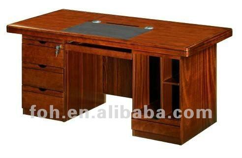 Classique bureau Ordinateur de Bureau (FOHK-1646 #)-Table en bois ...
