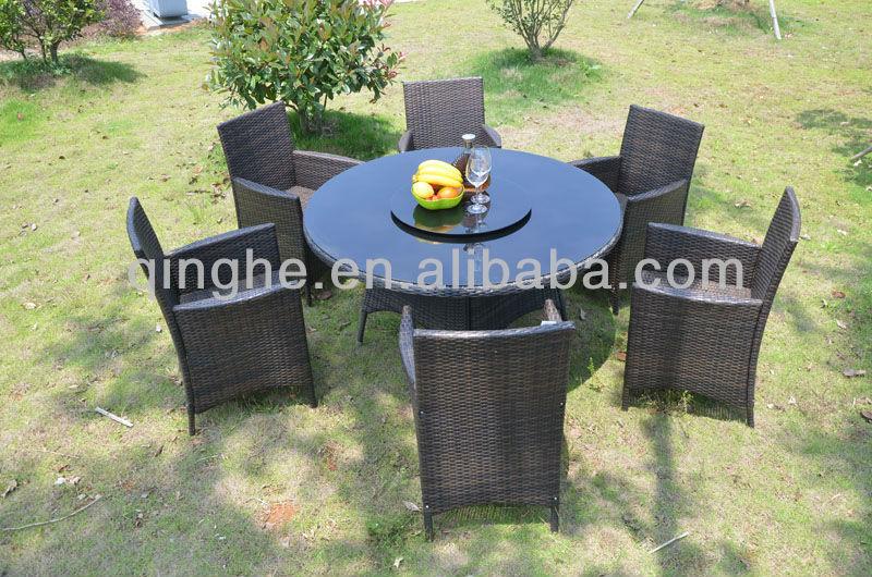 طاولات الطعام والكراسي مطعم، حديقة الأثاث الروطان بولي
