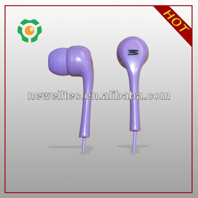pvc waterproof bag with high 3.5mm quality waterproof earphone