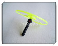 $5 off per $50 order/Free shipping/wholesale/lovely flying saucer Farrowed toy/exercise kid's ability/windmill(YF-017)