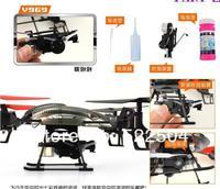 Детский вертолет на радиоуправление WL V969 Mini 2.4G 4CH RC Quadcopter Beetle With Bubble Function V959 V949 V929 UFO Upgrade Toy