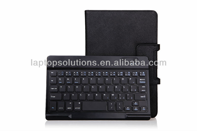 PU Leather Bluetooth Keyboard Case Cover For Dell venue 8 pro
