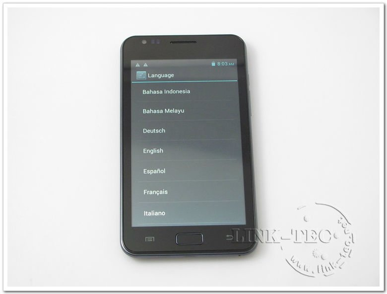 Multi touch MTK6575 1Ghz Haipai Noble i9220 android 4.0.3 system smart phone 5.3 WVGA HD capacitive screen gps free shipping