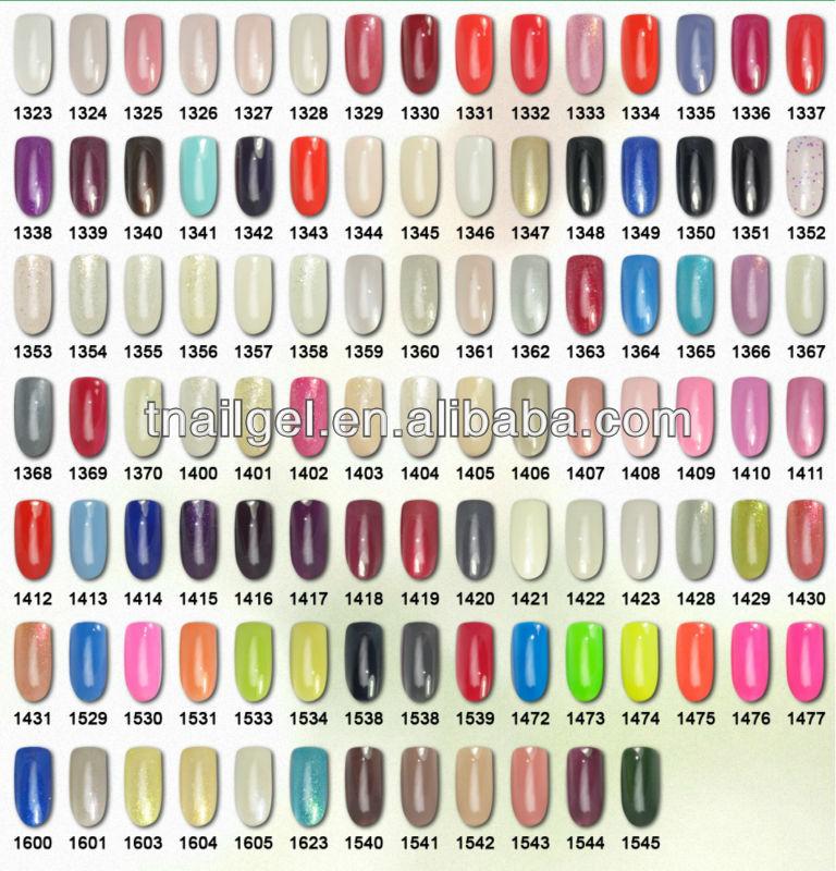 Nail Gel Polish Uv Color