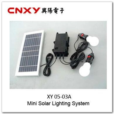 Mini Two Bulb LED Solar light