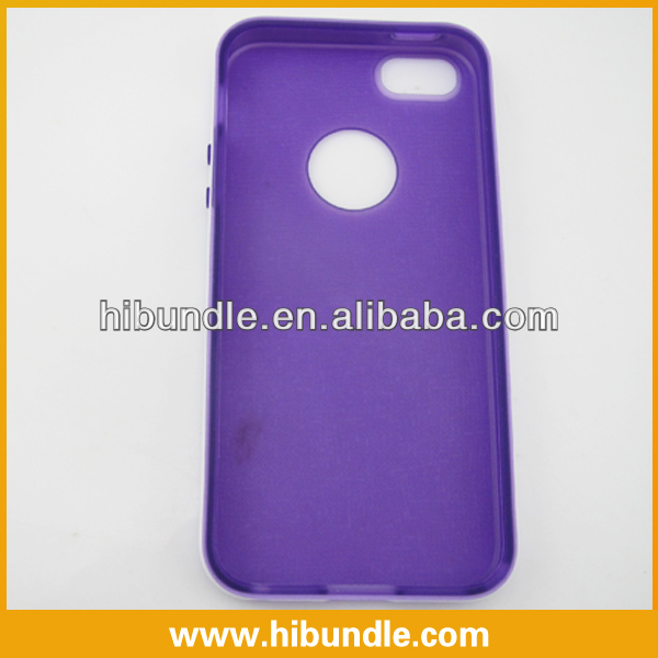 various colors silicon case for iphone 5