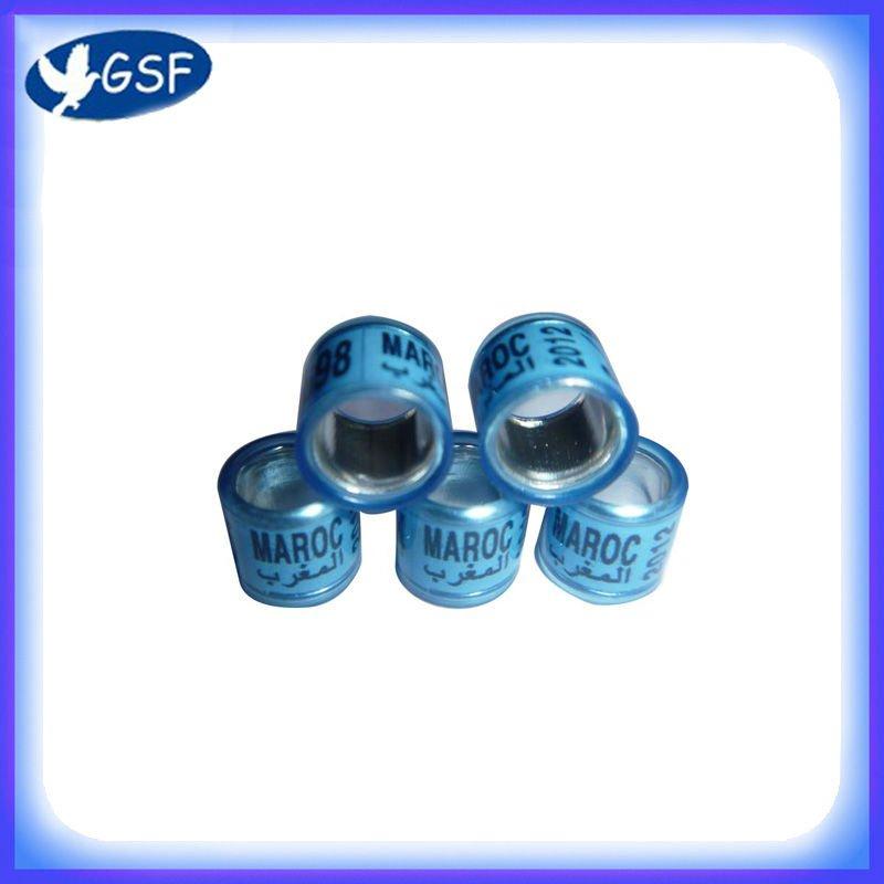 2015 color pigeon rings pigen leg rings customized bird rings pet rings lovebird bands