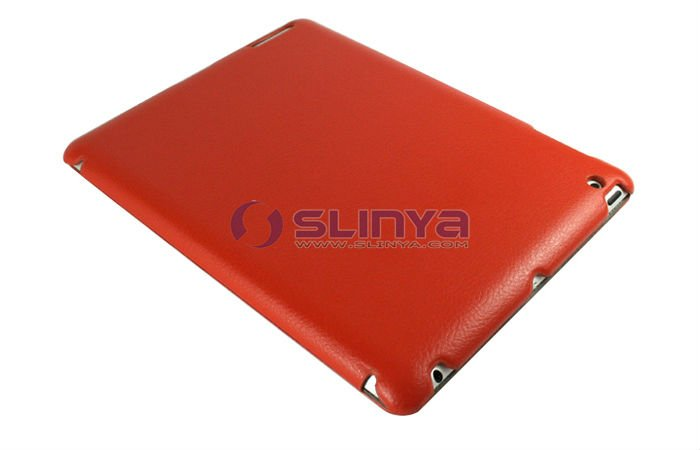 Foldable 1mm Thinkness Leather Stand for iPad 2/3/4 Case
