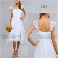 Платье для подружки невесты Everpretty HE03337BP Falbala Baby Pink Bridemaid