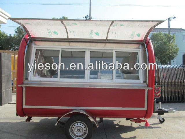 große räder mobile küche kiosk gastronomie im anhänger/essen ... - Gastronomie Mobile Küche