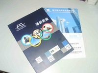 Company presentation colorful brochure printing