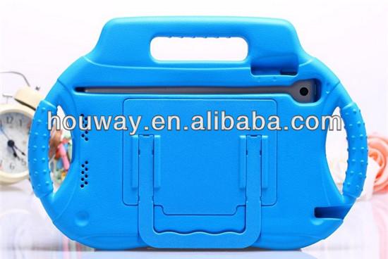 Radio shape Colorful Kids Protective For iPad Mini Thick Foam EVA Case with Handle
