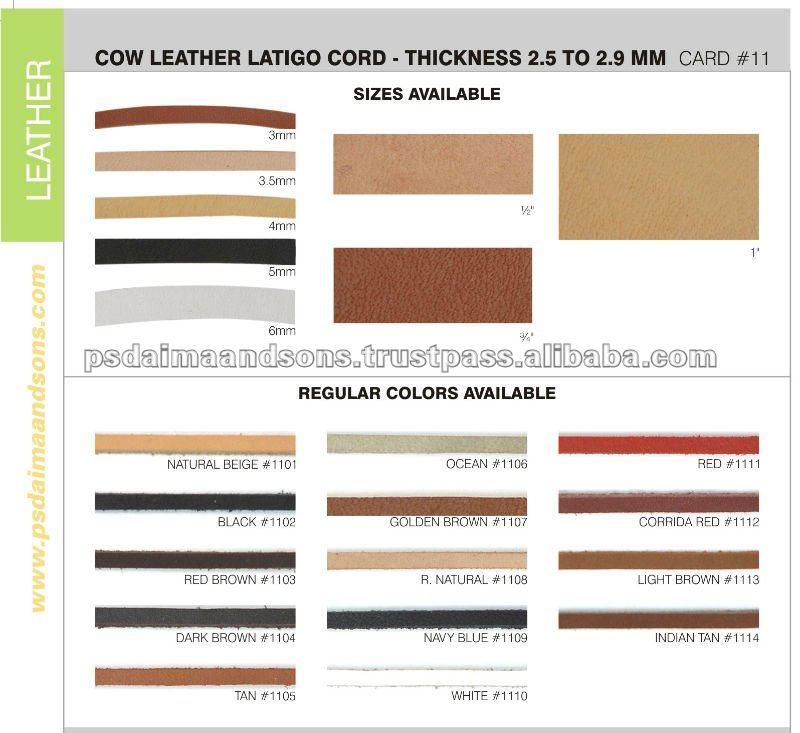 Cow Leather Latigo Cord.jpg