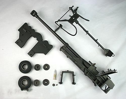 La seconde guerre mondiale allemand/anti- réservoir gunner/poupée