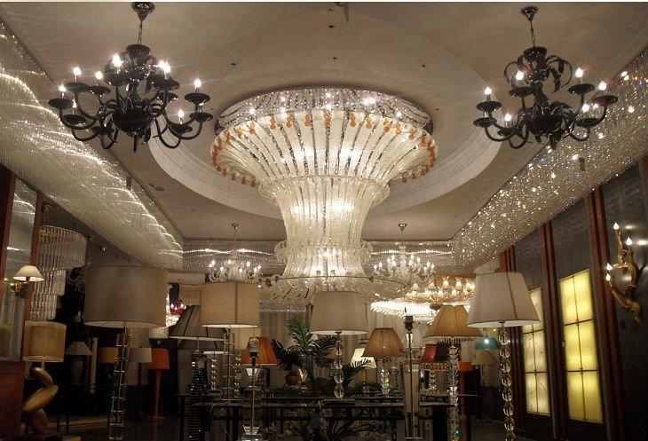 Glass Led Crystal Large Chandelier B1321 Buy Big Crystal