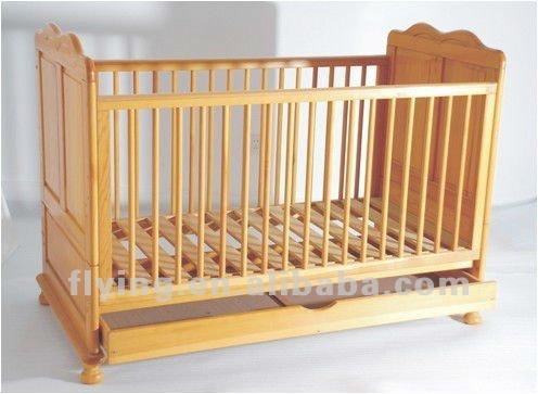Nueva zelanda de pino cuna de madera con cajón-Cunas para bebes ...