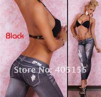 Женские джинсовые леггинсы SKINNY JEAN LOOK TIGHT STRETCHY LEGGINGS PANTS 922