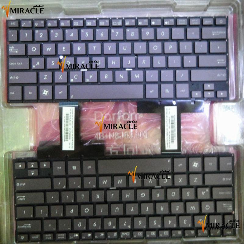 Ultrabook For ASUS UX31 keyboard UX31A Zenbook Prime series US PK130SQ1A00 9Z.N8JBU.G01 Black Brown