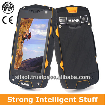 SIFPRUG-2.5 Mann Zug 3 Rugged smartphone IP68 Dual Core 3G Android 4.0 GPS Rugged Android Phone waterproof mobile phone