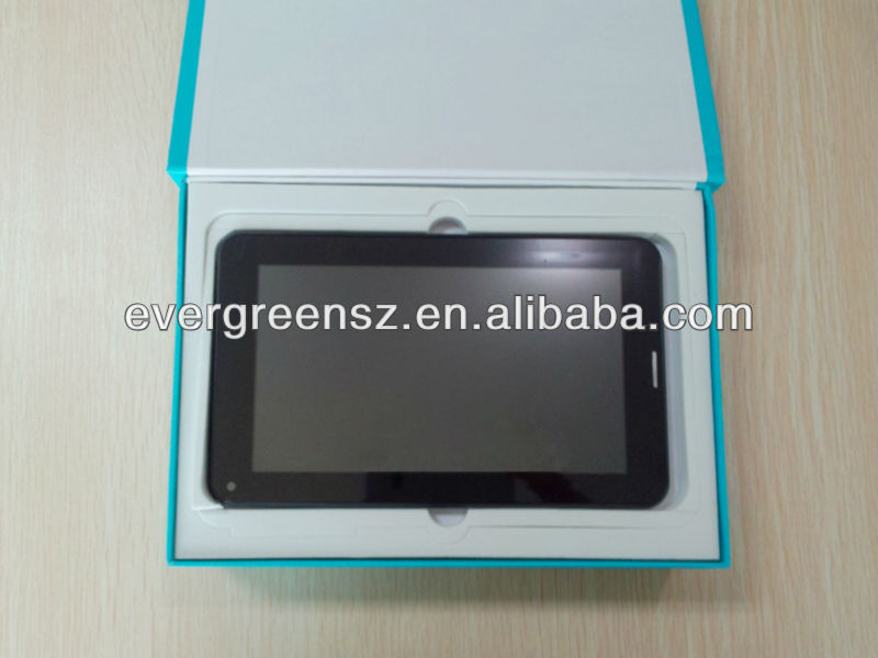 4:3 display screen with smart touch Allwinner 1.5Ghz android 4.1 BT dual camera 3g tablet pc phone mid