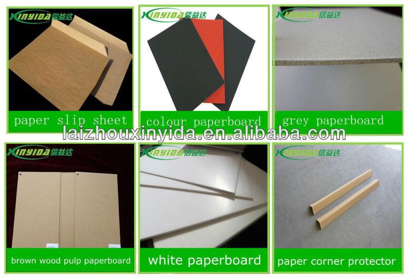 ราคาต่ำboardpaperคู่สีขาว, แผ่น
