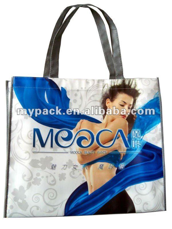 PP laminated colorful non woven shopping bag