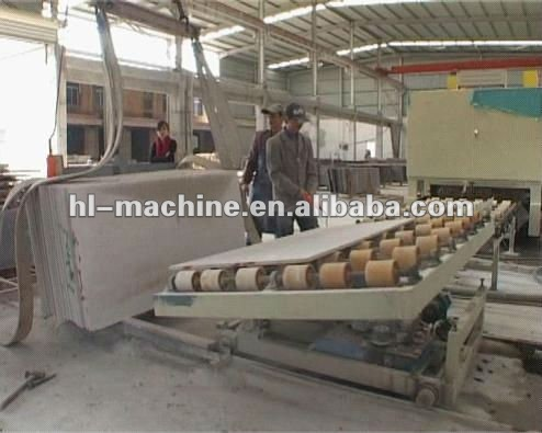 Zdmj Automatic Multi-heads stone polishing machine for granite