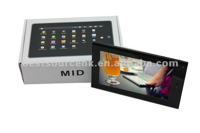 HOT! Android 4.0 Support 7 inch mini laptop tablet pc with 3G phone call 2G GSM & CE identification
