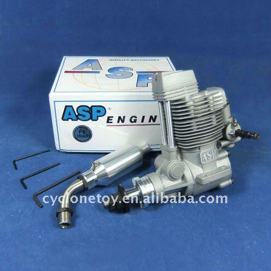 ASP 4 Stroke FS180AR Nitro Engine