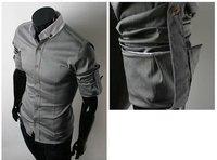 Мужская повседневная рубашка Slim Fit 5804