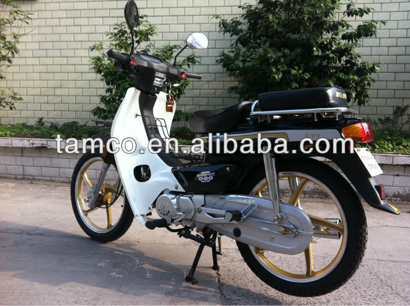 C90 70cc folding moped