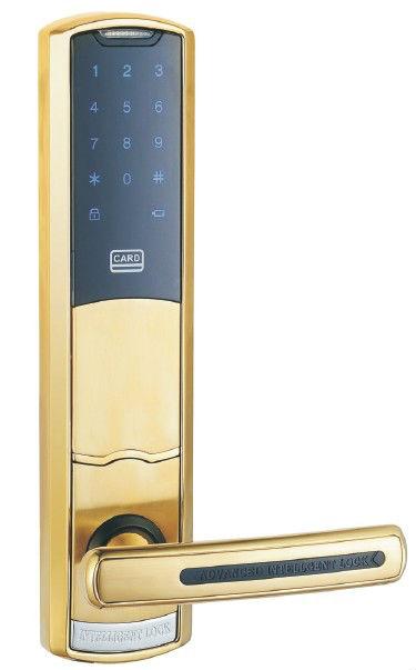 929SS-3-F Aluminum alloy digital touch screen password fingerprint slide door lock