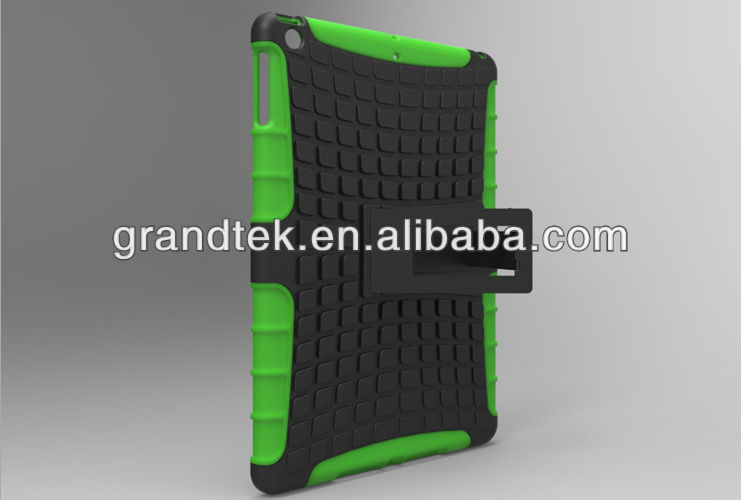 PC+Silicone Strong Armor Protective Case For iPad 5 Air