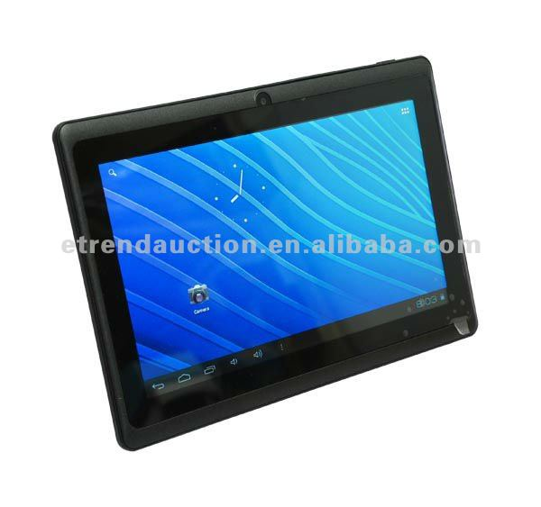 Allwinner A13 1.2GHz 7 inch tablet pc mid tablet pc manual