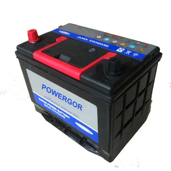 12 Months warranty life 60AH 12V batteries 55d23l mf car battery