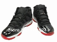 Famous Trainers Retro Christmas XI 11 Men's Sports Basketball Shoes J11 Low Retro Black / Gamma Blue Size:5.5-12
