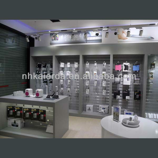 High-Grade Glass Mobile Store Design Display