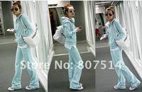 Женские толстовки и Кофты Fashionable women sport suit Hoodies & Sweatshirts coat + pant