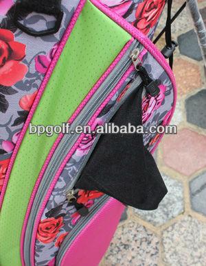 Pink ladies ram golf bags