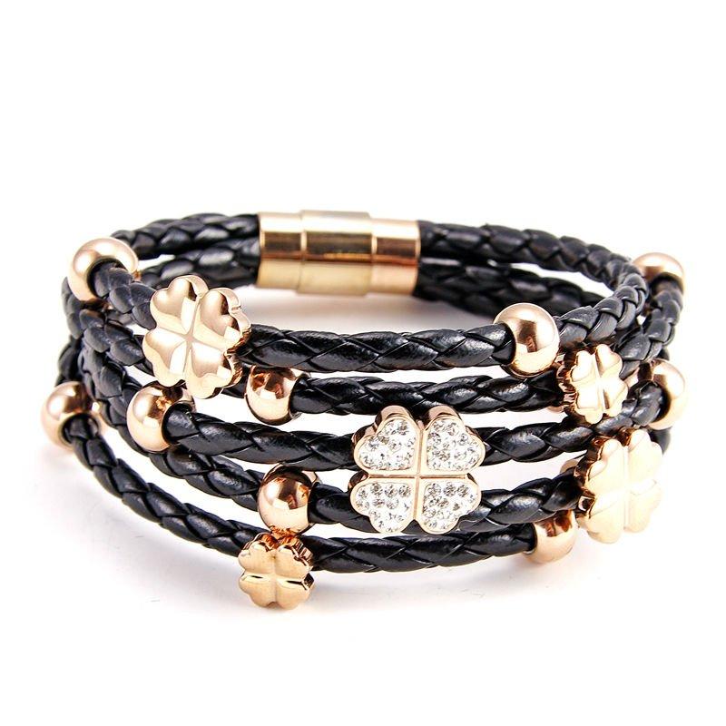 15. Очень красивые браслеты из натуральной кожи и высококачественных сплавов станут великолепным дополнением к любому...